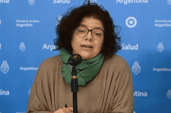 """Carla Vizzotti: """"Ahora tenemos la vacuna, no habrá un ASPO como el año pasado"""""""