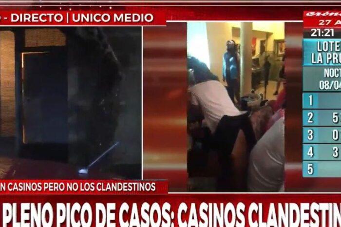 Golpe al juego clandestino: allanan casino ilegal y detienen a 10 personas