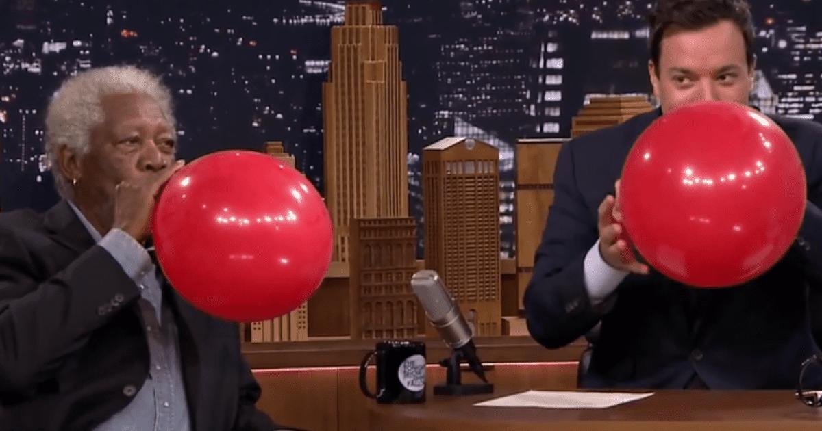 TikTok: el video de Morgan Freeman hablando con helio que es furor en las redes