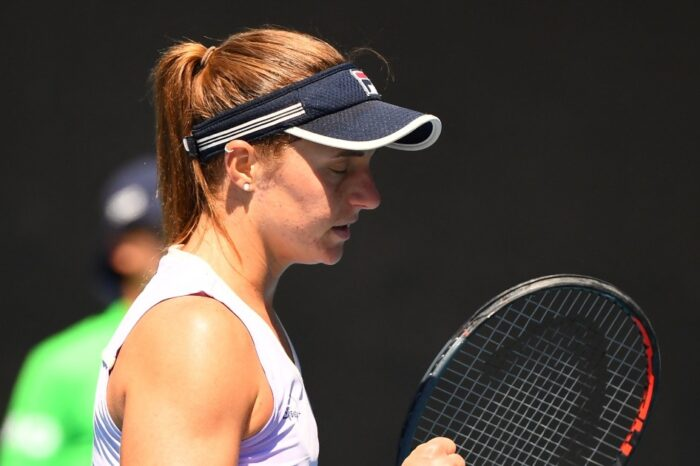 La tenista argentina Nadia Podoroska se lesionó y ya no estará en el torneo de Bogotá