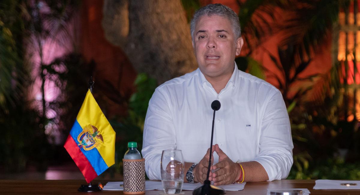 """""""Hay que poner los pies en la tierra"""" dijo Duque sobre producir vacunas en Colombia"""