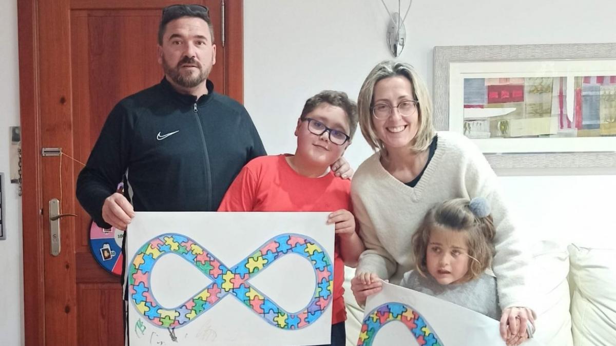 Mayra, Ramón, Esther, Irene y Alberto ponen rostro al autismo, el trastorno más poliédrico