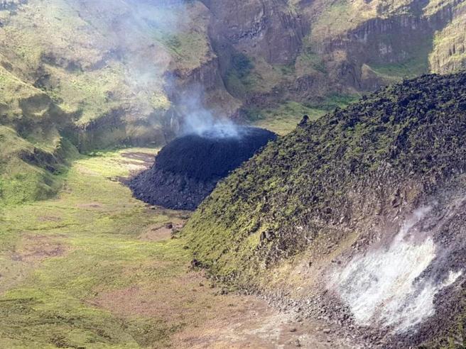 Actividad sísmica en el volcán La Soufrière, en San Vicente y las Granadinas.